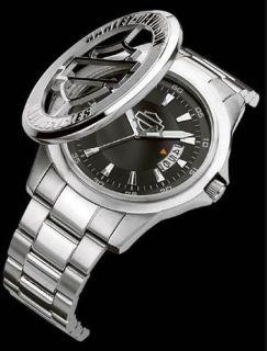 Mens Harley Davidson Bulova Wrist Watch. 76B143