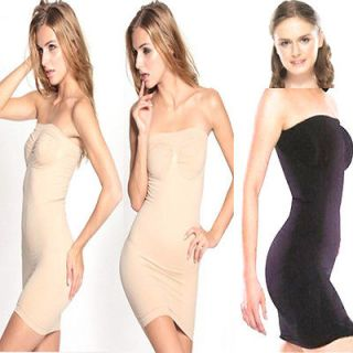 Womens Lady Body Shaper Dress Skirt Bum Slimming Tummy Control