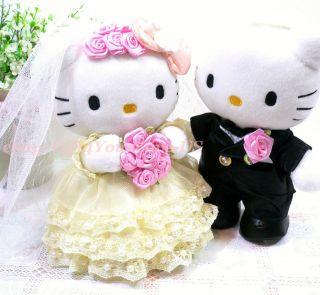 12 Hello Kitty Daniel Cat Wedding Plush Doll Car/Home Decor Great For