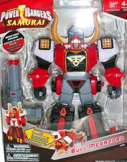 Power Rangers Samurai BULL MEGAZORD. Brand new, original version