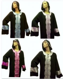Plain Black Abaya Burqa Burka Jilbab Hijab long islamic size M/L/XL