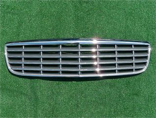 OEM Cadillac Deville DTS DHS Chrome Grill 2000 to 2005