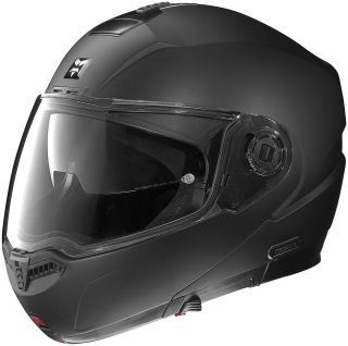 Nolan Helmet N104 Outlaw B4 NCOM System Ready Modular Matte Flat Black