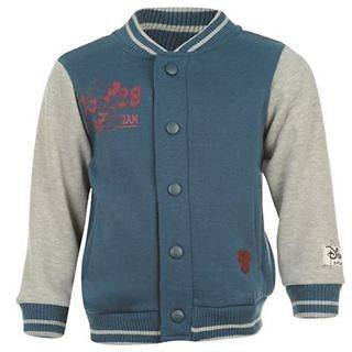 boys blue grey marl Baseball Jacket 2 3 3 4 5 6 years Mickey Mouse