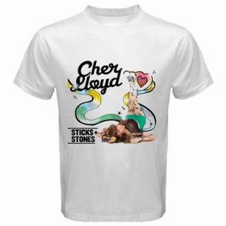 READ DESCRIPTION$ Cher Lloyd Album Sticks White T Shirt All Sizes Av
