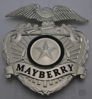 Barney Fife Badge prop replica using real artwork The Andy Griffith