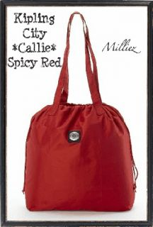 NWT*KIPLING*CITY COLLECTION*CALLIE BAG*LRG SHOULDER*FOLD UP+SML PURSE