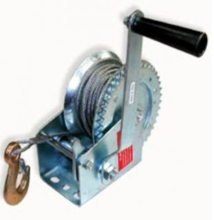 HAND WINCH 1200lb CABLE ~ BOAT   CAR   TRAILER   4X4 ** Free Shipping