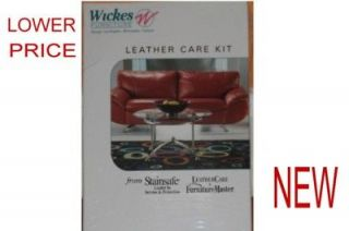 FURNITURE MASTER LEATHER CARE KIT WITH INK LIFTER