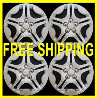 Hub Caps Full Wheel Covers Rim Trim Cover Wheels Rims w/STEEL CLIPS