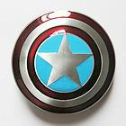 Captain America Star Shield Belt Buckle   Avengers Marvel Comics Super