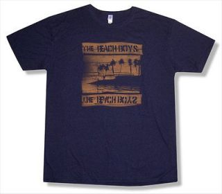 THE BEACH BOYS   NIGHT BEACH TOUR LAS VEGAS BLUE T SHIRT   NEW ADULT