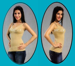 Tummy Control Cami Shaper Girdle Tank Top Size S M L XL