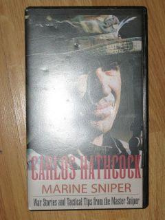 Marine Sniper [VHS] Carlos Hathcock (Author)