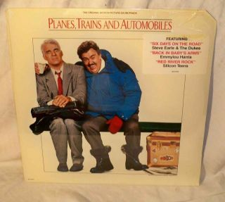 trains+automobiles NM /SS john candy steve martin cc earle SEALED LP