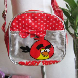 arrival child birds side bag girls school bag purse money bag 102521l