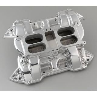 Edelbrock CH 28 Dual Quad Intake Manifold 54401 Chrysler RB Fits Stock