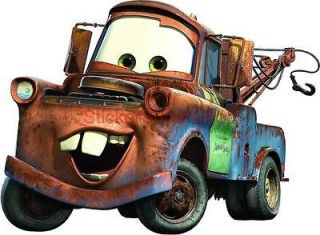 Choose Size MATER CARS Decal Removable WALL STICKER Art Decor Mural