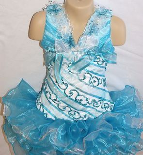 high glitz pageant dress in Clothing,