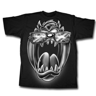 Tasmanian Devil Taz Looney Tunes Cartoon Concert Shades Licensed Tee