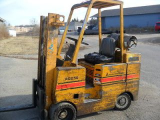ALLIS CHALMERS ACC50 L PS Forklift 5000 lb Cap 104 lift Propane