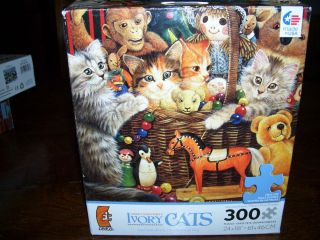 Ivory Cats by Lesley Anne Ivory   300 Oversized pc   2011