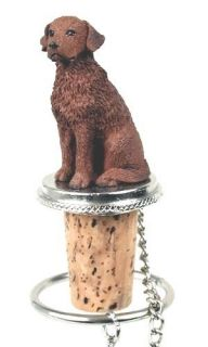 CHESAPEAKE BAY RETRIEVER DOG WINE STOPPER