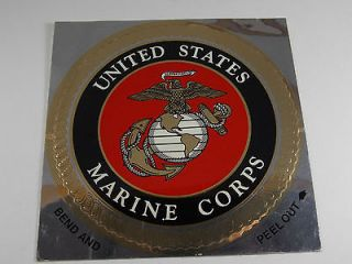 Marines Eagle Globe Anchor (EGA) Decal/Sticker 4 Inch k