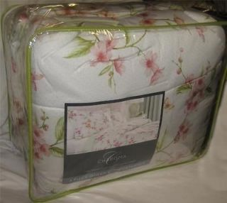 CHARISMA Cherry Blossom 3 PIECE KING COMFORTER SET NEW 1ST ~ VERY RARE