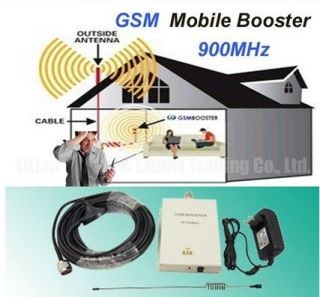 GSM 900Mhz Mobile Cell Phone Singal Booster Repeater Amplifier New