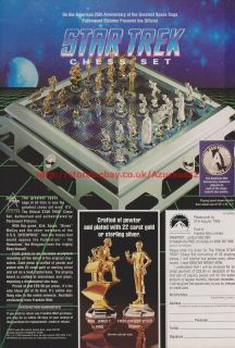 star trek chess sets in Collectibles