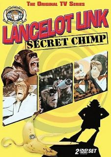 Lancelot Link   Secret Chimp DVD, 2006, 2 Disc Set