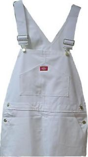 Dickies 8953WH Painters Bib Overalls Discount Priced with Paint Co
