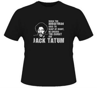 Jack Tatum Oakland Los Angeles LA Raiders Tough T Shirt