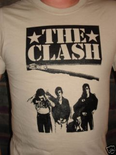 The Clash Joe Strummer Punk Shirt XLarge