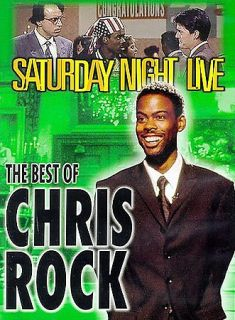 Saturday Night Live   Best of Chris Rock DVD, 2000