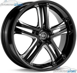 40mm Black Chrome Rims Wheels Inch 18 (Fits 2012 Chevrolet Malibu