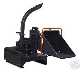 Quick Attach Skid Steer Wood Chipper fits Bobcat CAT John Deere Terex