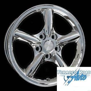 Brand New 17 Jeep Grand Cherokee Chrome Plated Wheels Rims   Set of 4