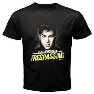 Adam Lambert Music Rock Band Mens Black T Shirt Size XS   2XL