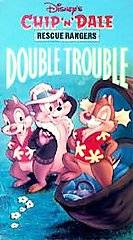 Walt Disney Chip N Dale Rescue Rangers   Double Trouble VHS, 1991