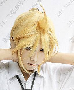 Vocaloid Kagamine Len Rin Cosplay Wig Party Full Hair + gift
