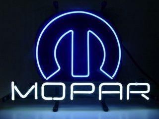 15x11 Mopar Logo Beer Bar Pub StoreDisplay Light Neon Sign N44 Blue