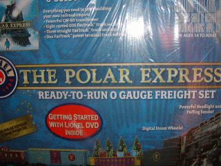 The Polar Express Steam Freight Train Set O 27 MIB Christmas 2012