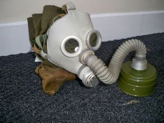 Soviet Baby / Child Gas Mask With Filter & Bag Genuine Army Military