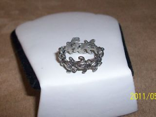 Circle of Friends Pewter Turtle Ring great gift