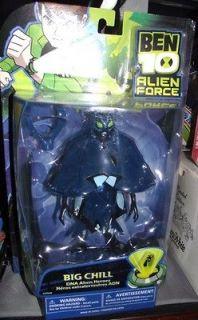 Ben 10 DNA Alien Heroes Big Chill 6 Action Figure Ben Ten Collection