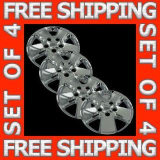 08 11 Ford Escape 16 Chrome Wheel Skins Hubcaps Covers Hub Caps Set