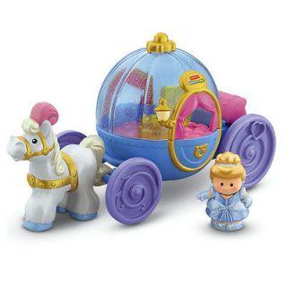 Disney Fisher Price Little People Princess Cinderella Coach Carriage