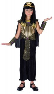 QUEEN CLEOPATRA EGYPTIAN PRINCESS GIRLS COSTUME FANCY DRESS UP PARTY